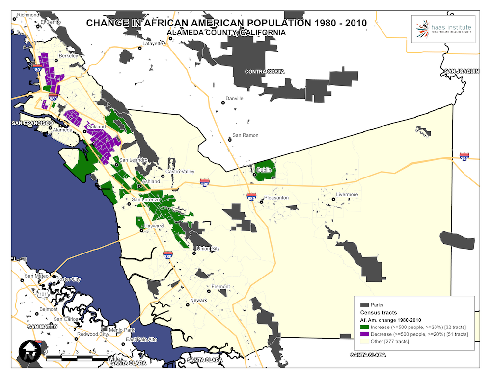 Racial Segregation in the San Francisco Bay Area, Part 2