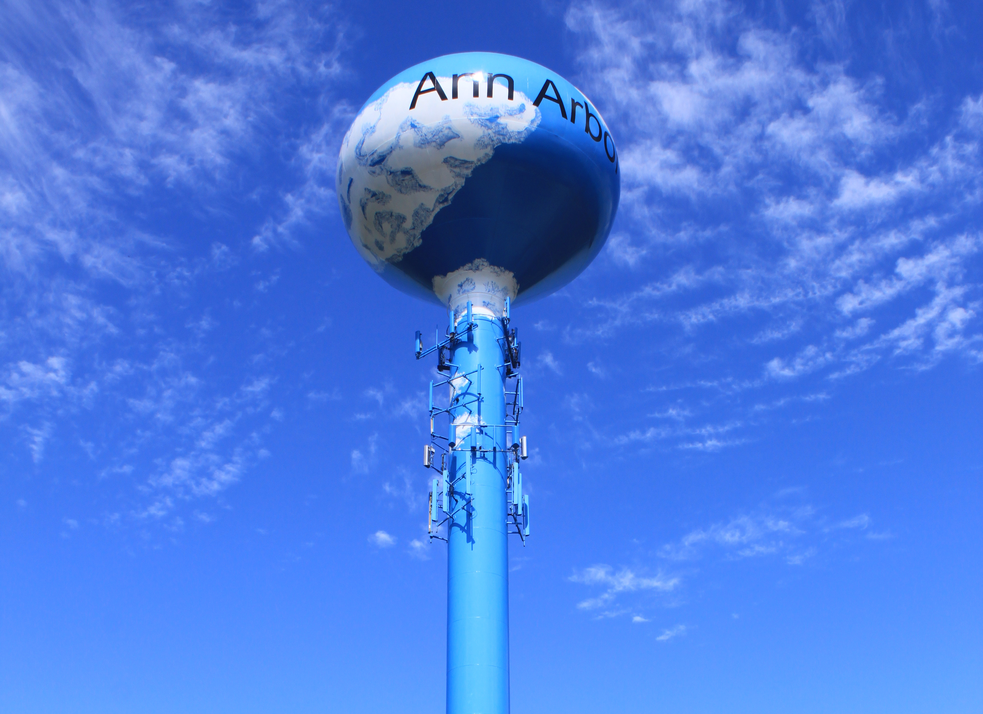 Water Tower in Ann Arbor, Michigan