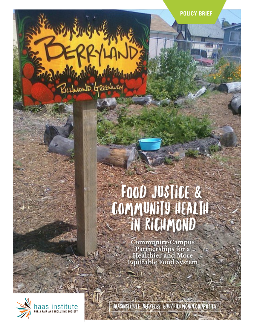 Richmond Food Policy Report Cover