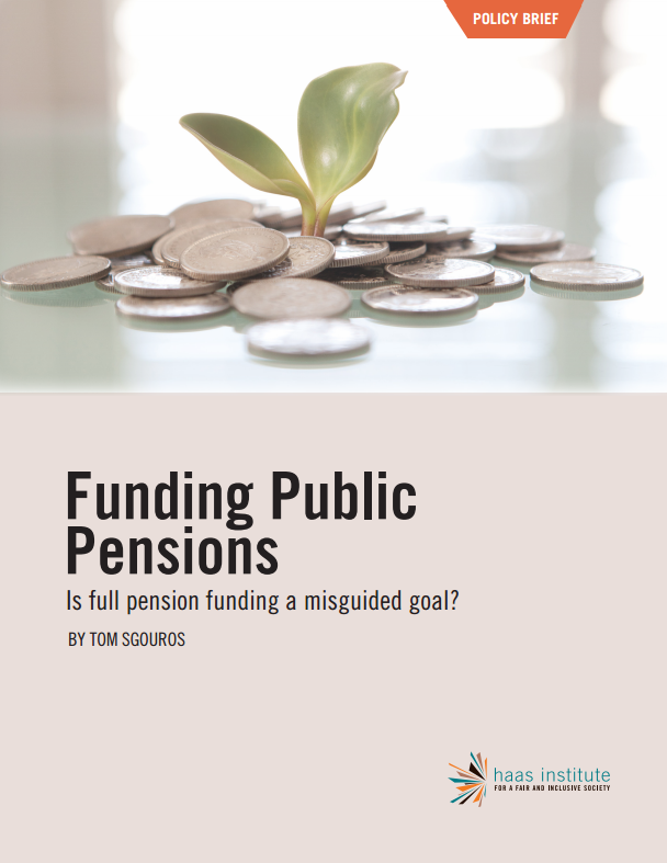 Funding Public Pension - Cover