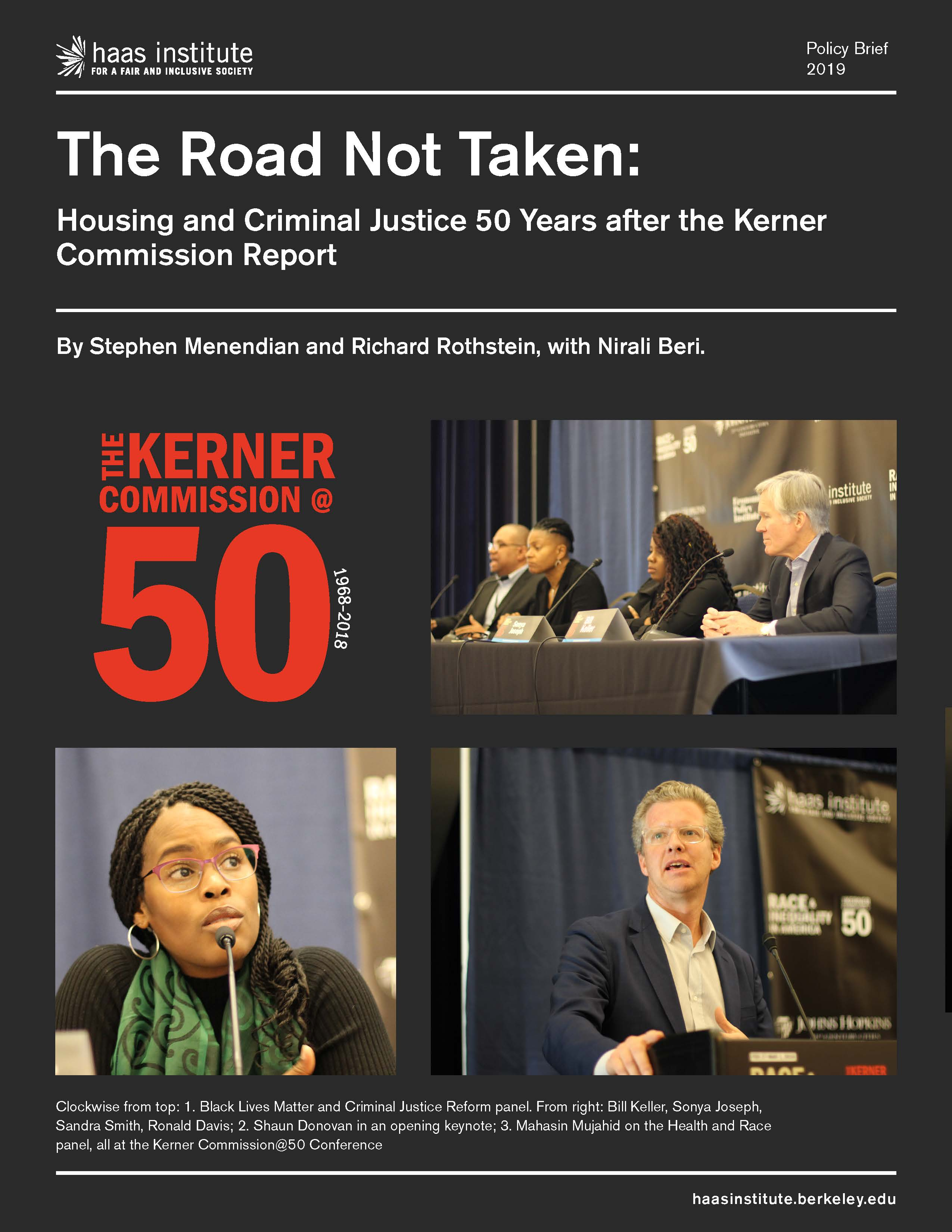 Cover image of the Road Not Taken report