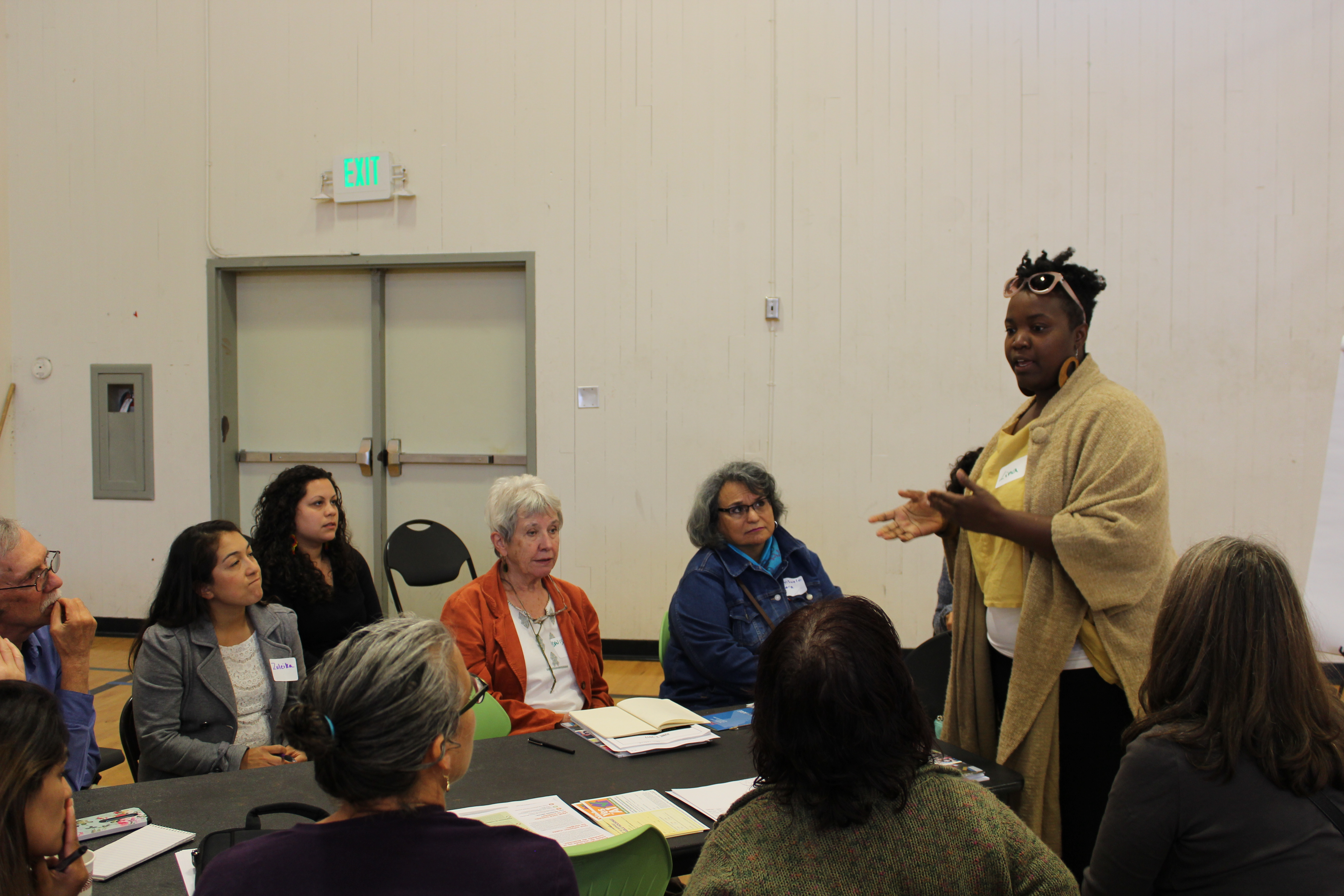 Participants at the Richmond Housing Symposium