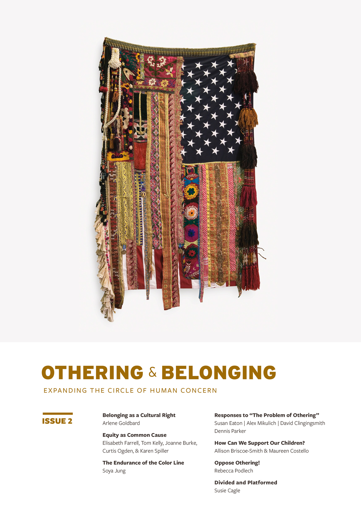 Cover of Othering and Belonging Journal, Issue 2