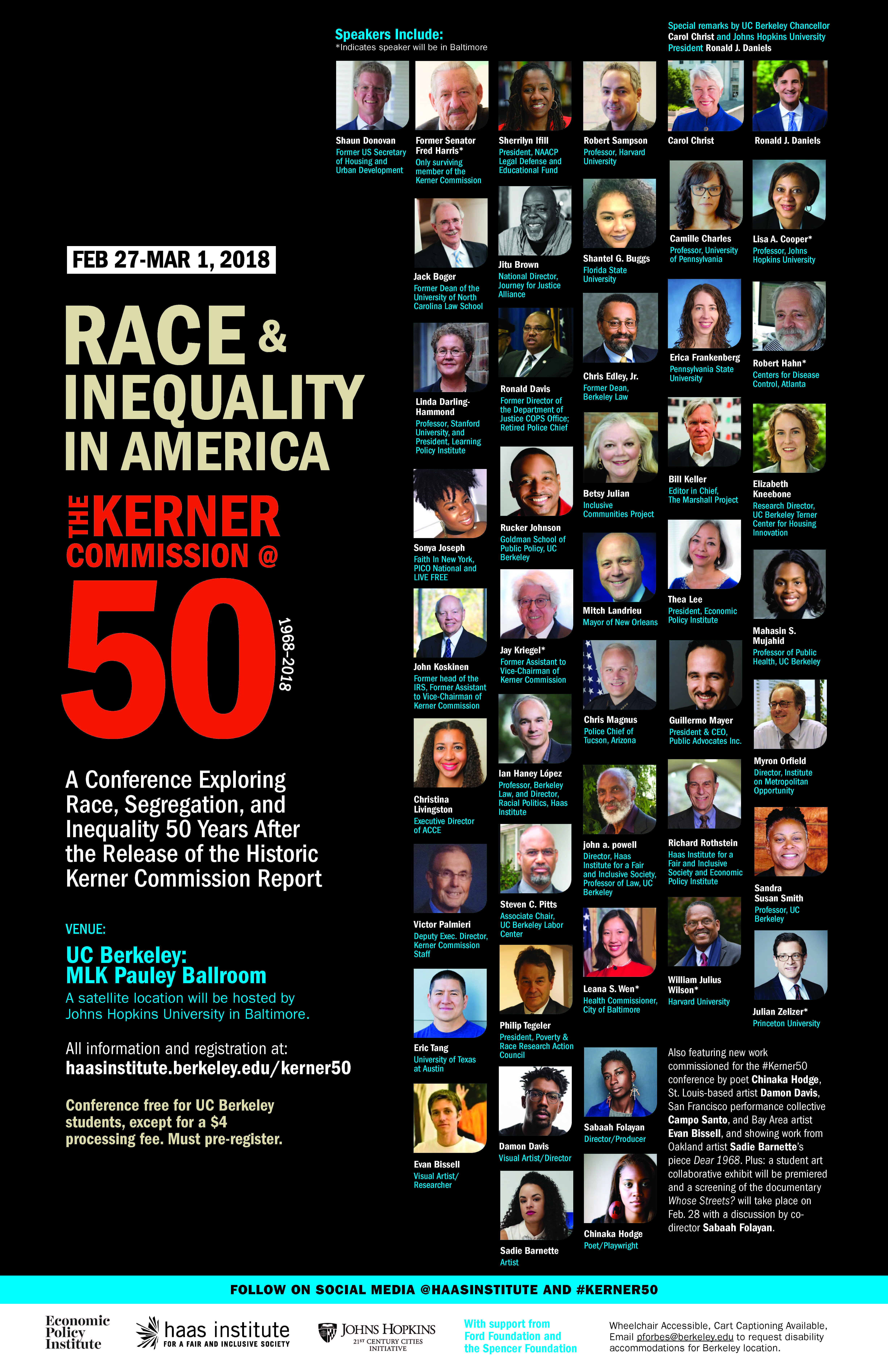 Race & Inequality in America: The Kerner Commission at 50