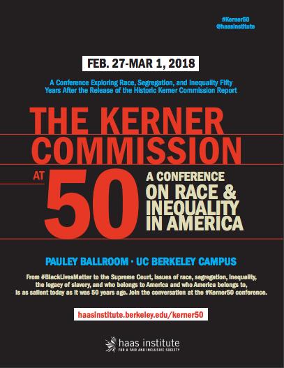 Kerner Commission Conference at 50 flier