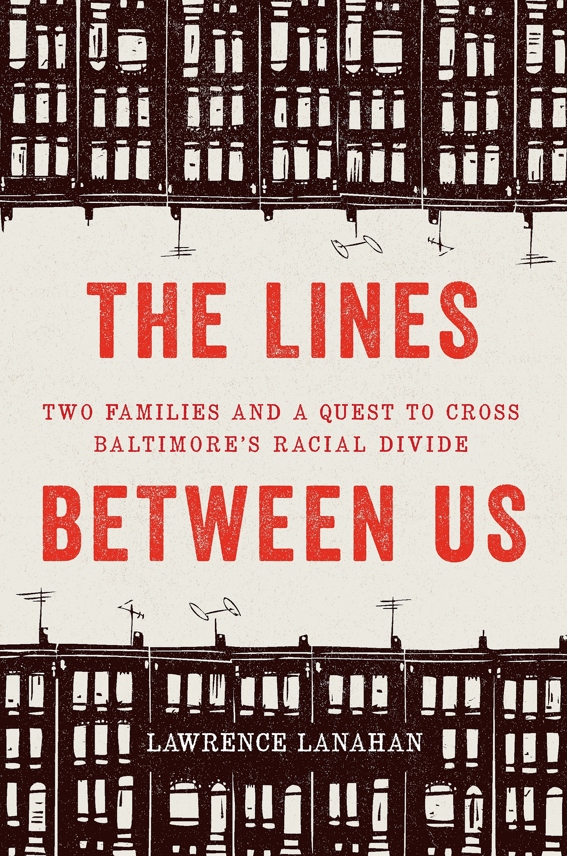 """Cover of """"The Lines Between Us"""" book"""