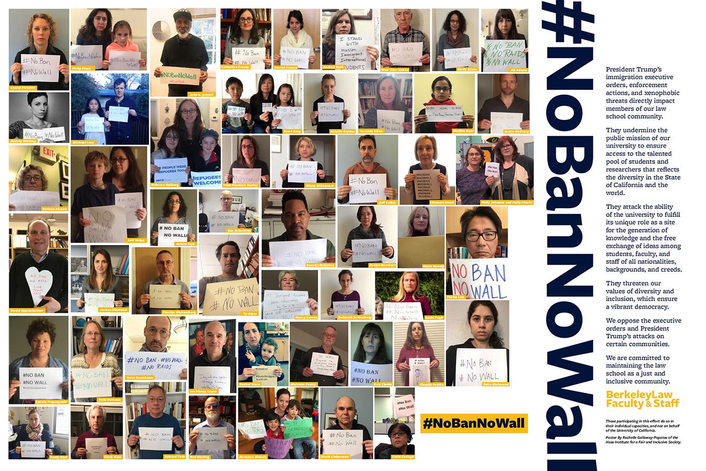 No Ban No Wall Poster Image