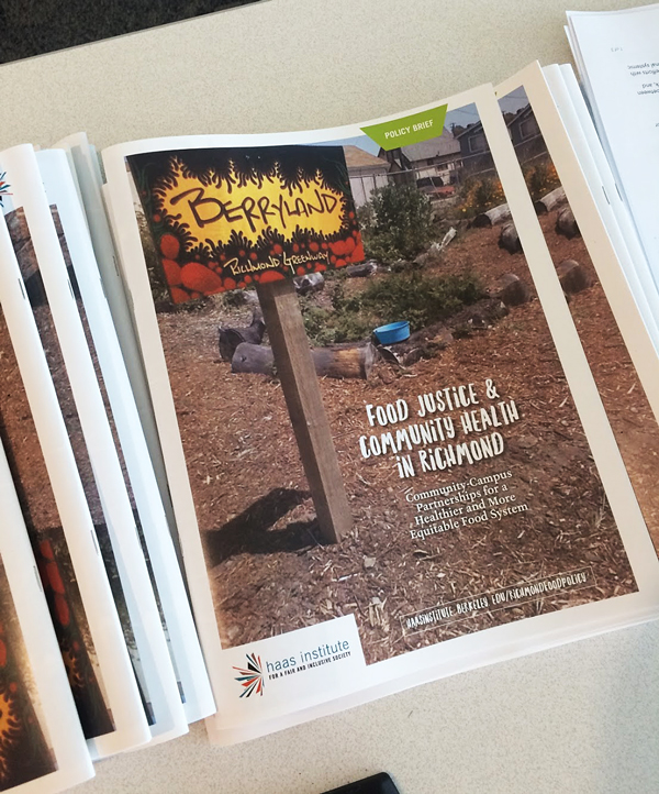 Food Justice report covers