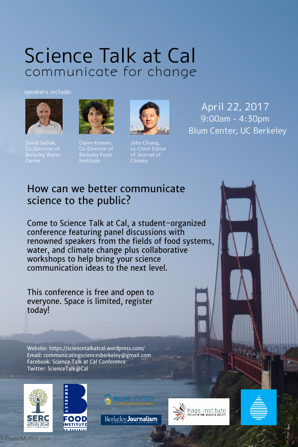 Science Talk at Cal: Communicate for Change