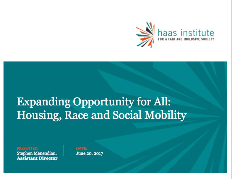 screenshot for housing forum speech