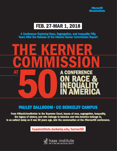 Kerner Commission Conference flyer