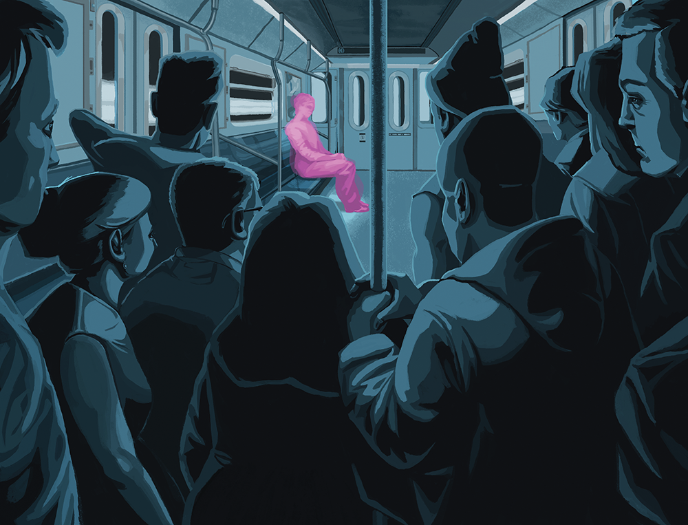 Anxiety on a train