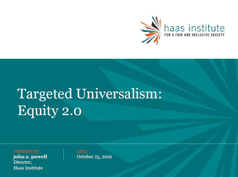 Kids Count Targeted Universalism Presentation