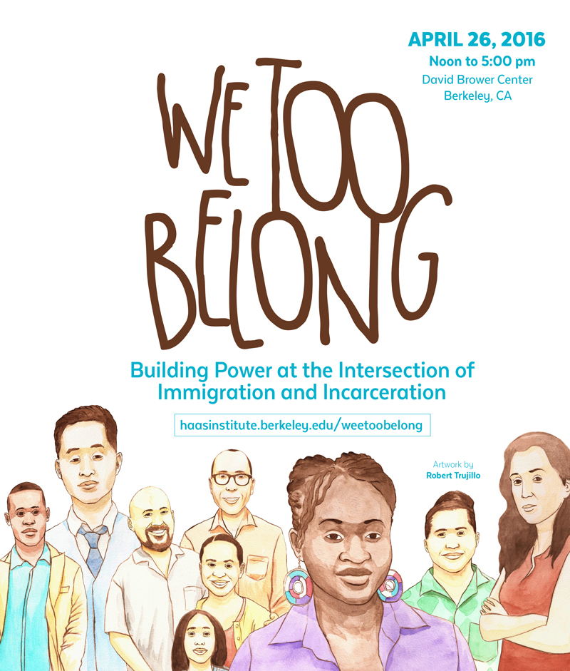 We Too Belong April 26 Event Poster